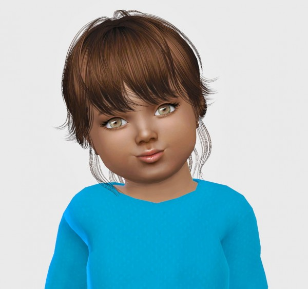 Simiracle: NewSea`s Paulina hair retextured for Sims 4