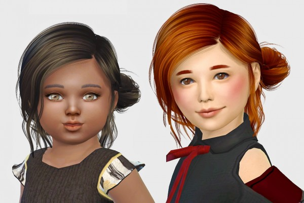 Simiracle: Anto`s Aviary hair retextured for Sims 4