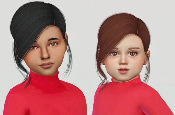 Simiracle: Ade Darma`s Gabbie hair retextured for Sims 4