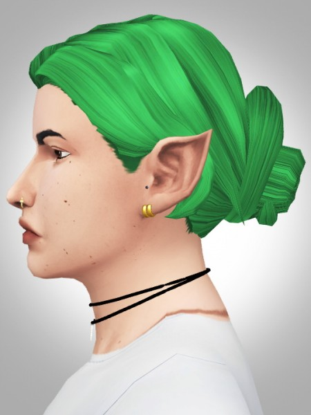 Kismet Sims: Wiked Garden hair for Sims 4