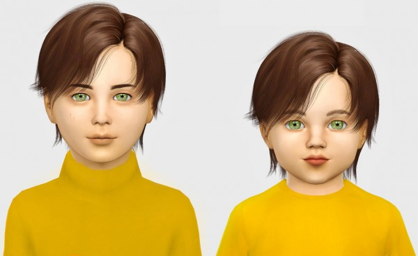 Simiracle: WINGS OS1006 hair retextured for Sims 4