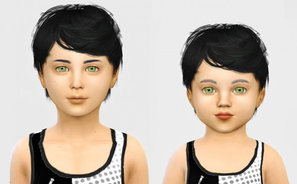 Simiracle: Simpliciaty`s Julian hair retextured for Sims 4