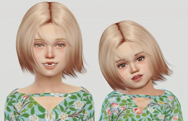Simiracle: Wings Os1027 hair retextured for gilrs for Sims 4