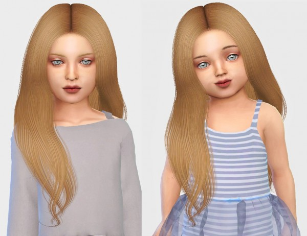 Simiracle: Simpliciaty`s Naya hair retextured for Sims 4