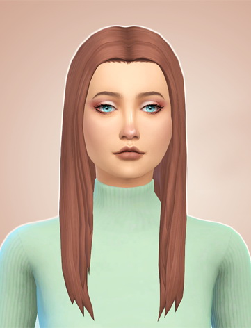 Simsworkshop: Kiara Zurks Allison Hair recolored by Naevys for Sims 4