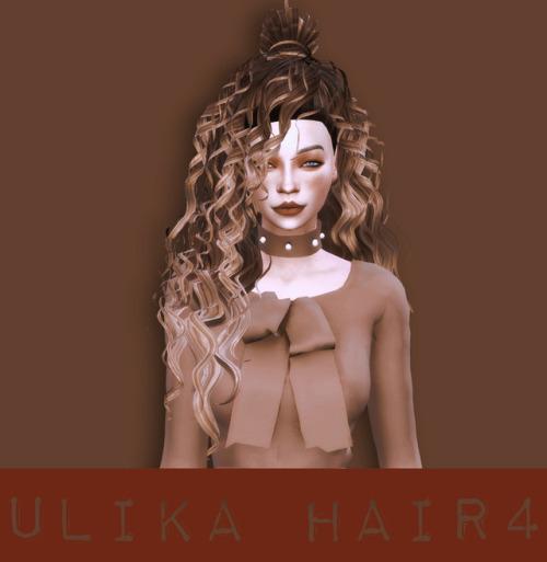 UliKa: Convert hair 4 for Sims 4
