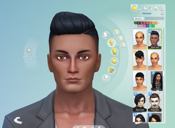 Mystufforigin: Part Shaved Conversion for Sims 4