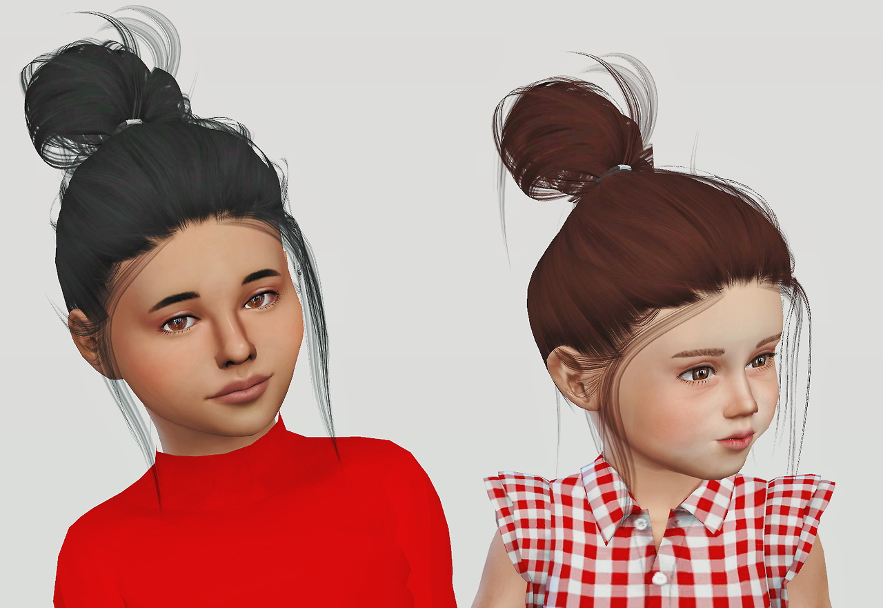 Sims 4 Hairs Simiracle Leahlillith S Clique Hair Retextured