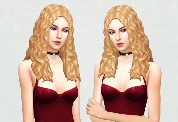 Kot Cat: Britney hair retextured for Sims 4