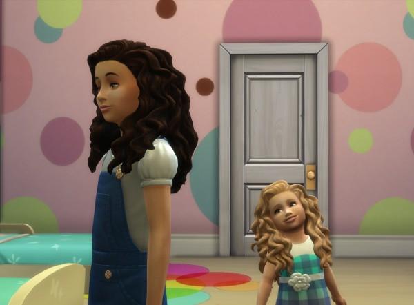 Mystufforigin: Mid Curly Conversion for Sims 4