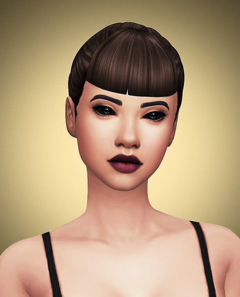 Littlecrisp: Hair Dump 01 for Sims 4