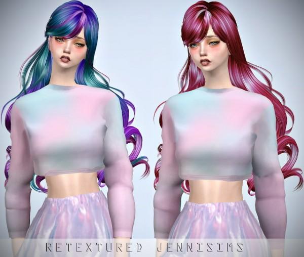 Jenni Sims: Newsea`s Dollhouse Hair retextured for Sims 4