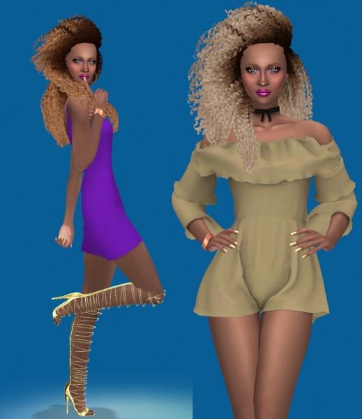 Sims Fun Stuff: Traptastical Sims Hair Dump for Sims 4