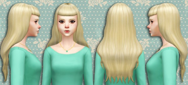 Simduction: Mon Hair V2 for Sims 4