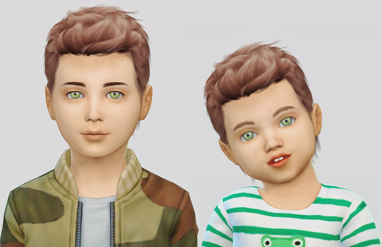 Sims 4 Hairs Simiracle Wings Os1113 Hair Retextured