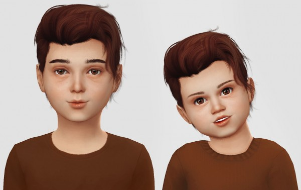 Simiracle: Wings Os1208 hair retextured for Sims 4
