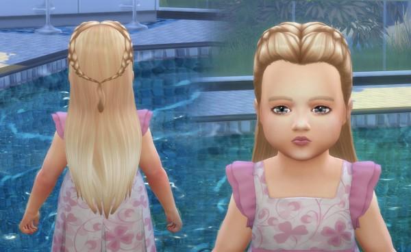 Mystufforigin: Absolution Hair retextured for Sims 4