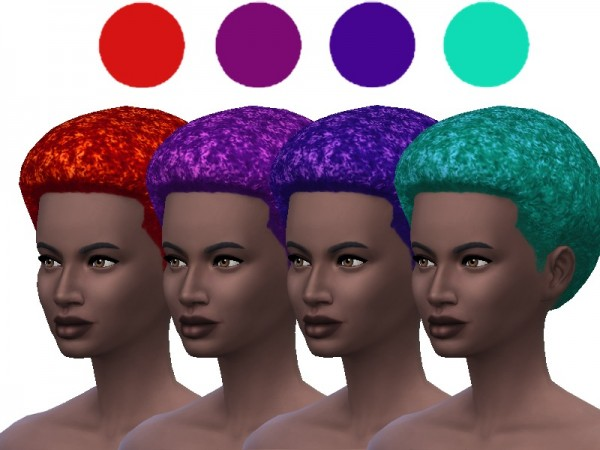 The Sims Resource: Hair Recolor Set 1 by ladyfancyfeast for Sims 4