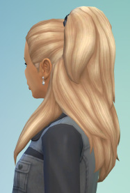 Birksches sims blog: Senta Hair Version 1 and Version 2 for Sims 4
