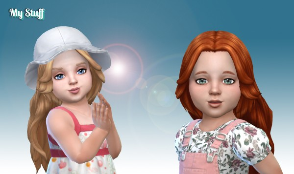 Mystufforigin: Valentine Gift Version 2 for toddlers for Sims 4