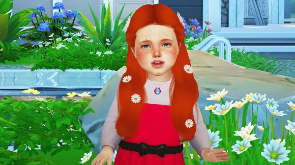 Coupure Electrique: Simpliciaty`s Lust hair toddlers version for Sims 4