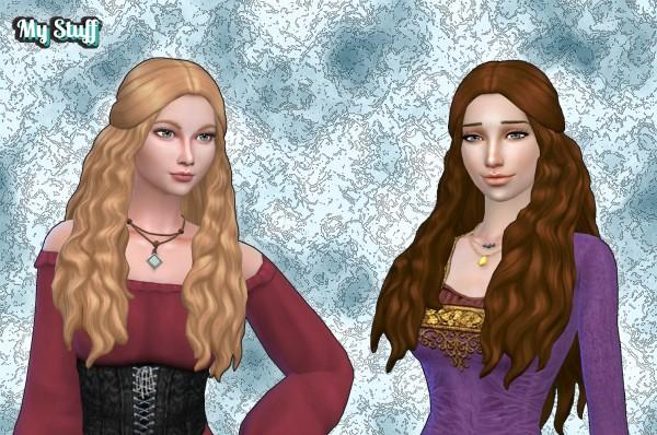 Mystufforigin: Jayden hair retextured for Sims 4