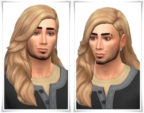 Birksches sims blog: Julien Hair for Sims 4