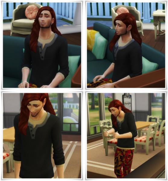 Birksches sims blog: Julien Hair for Sims 4