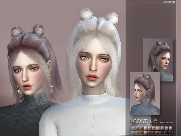 The Sims Resource: WINGS OE0120 for Sims 4