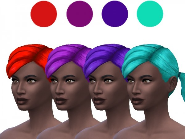 The Sims Resource: Hair Recolor Set 3 by ladyfancyfeast for Sims 4