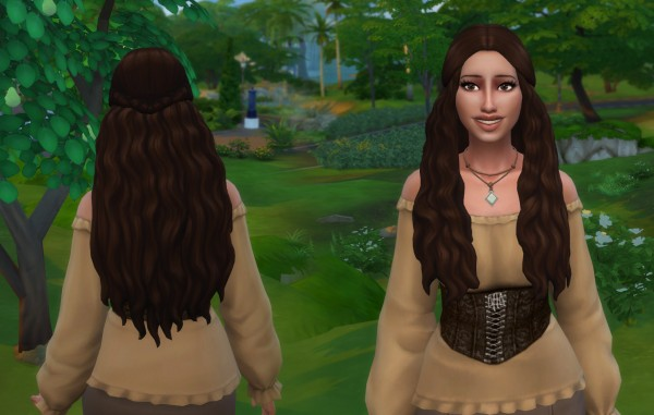 Mystufforigin: Jayden hair retextured for Sims 4