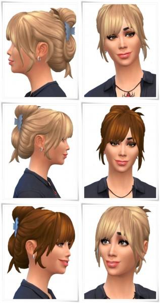 Birksches sims blog: Limpio hair for Sims 4