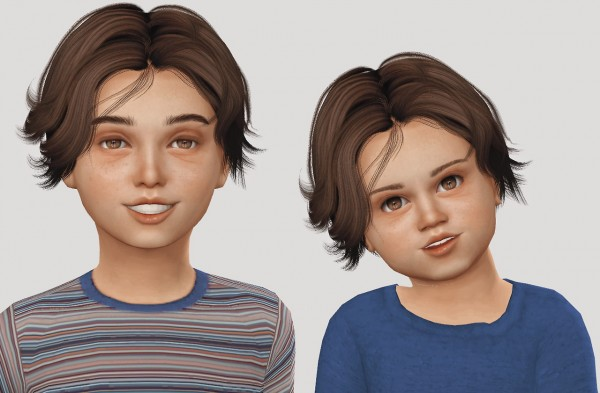 Simiracle: Wings OE0111 hair retextured for Sims 4