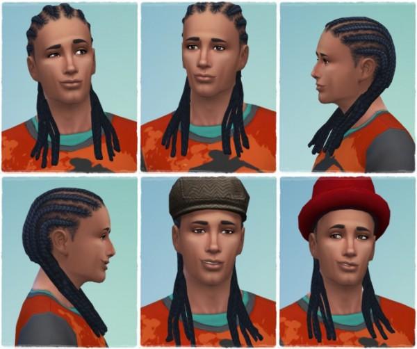 Birksches sims blog: Twist'n Braids hair retextured for Sims 4