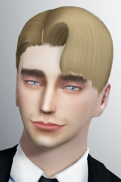 Lonely Boy: Question Mark Hair for Sims 4