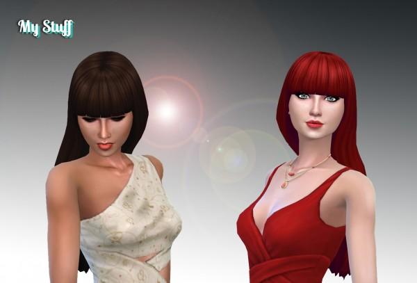 Mystufforigin: Gabriella Hair for Sims 4