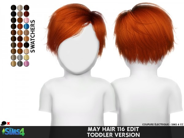 Coupure Electrique: May 116T retextured for Sims 4