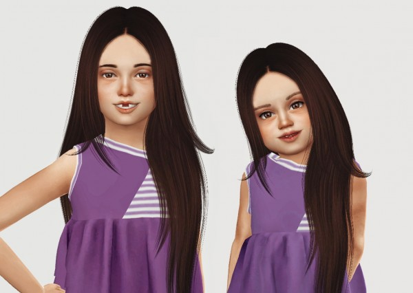 Simiracle: Nightcrawler`s Charmed hair retextured for Sims 4