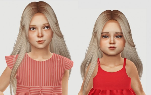 Simiracle: Nightcrawler`s Muse Hair Retextured for Sims 4