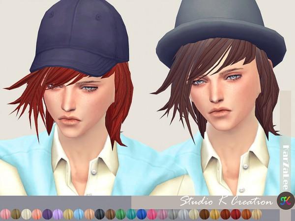 Studio K Creation: Animate hair 89 Hiromi for Sims 4