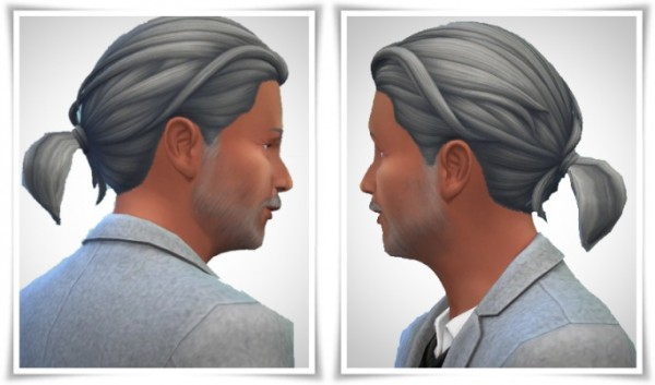Birksches sims blog: Tiny Ponytail hair for Sims 4
