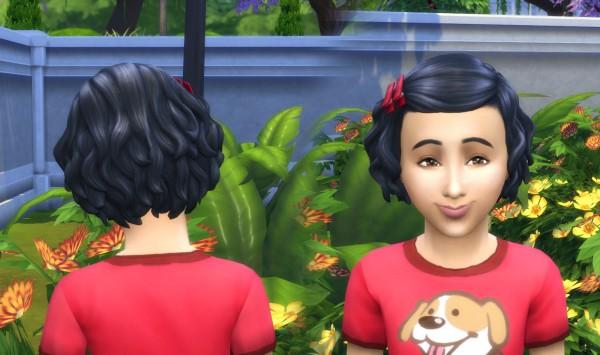 Mystufforigin: Soft Curls Conversion for Sims 4