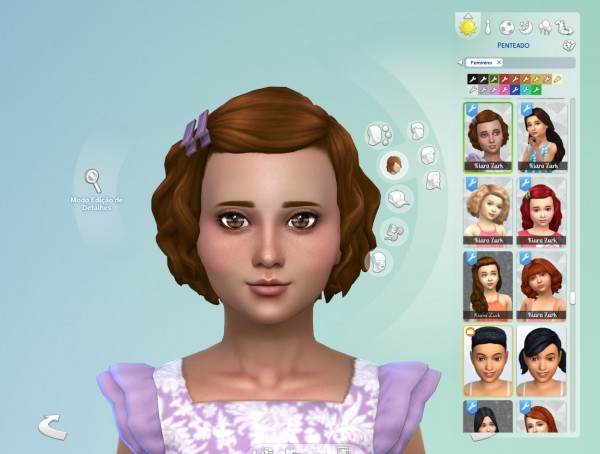 Mystufforigin: Soft Curls Conversion for Sims 4