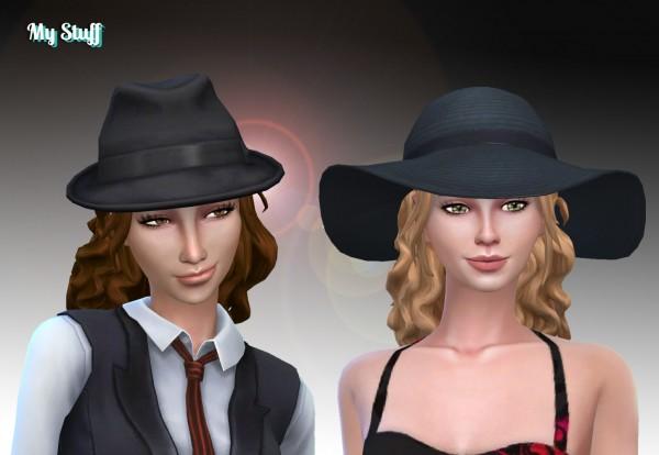 Mystufforigin: Leonora Hair retextured for Sims 4