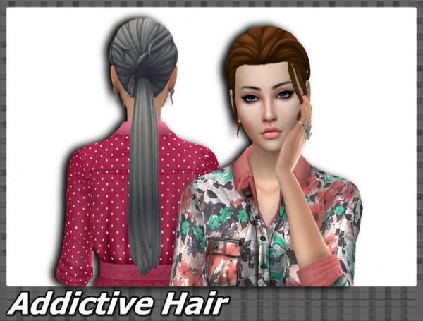 Mikerashi: Addictive hair retextured for Sims 4