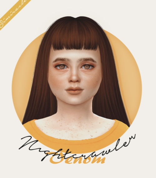 Simiracle: Nightcrawler Venom hair retextured Kids Version for Sims 4