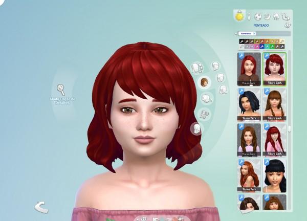 Mystufforigin: Samantha Hair for Sims 4