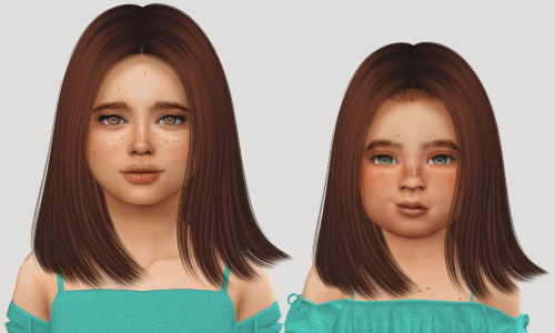 Simiracle: Nightcrawler`s Coco hair retextured for Sims 4