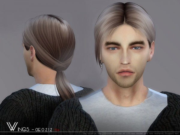 The Sims Resource: WINGS OE0212 for Sims 4