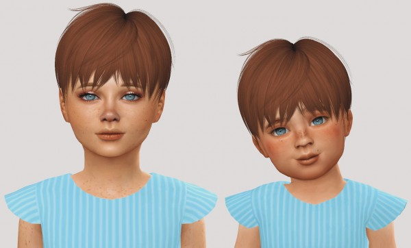 Simiracle: Leahlillith`s Mia hair retextured for Sims 4